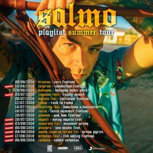 Summer Arena di Soverato, il 3 agosto il concerto di Salmo