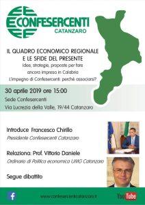 Confesercenti Catanzaro, il quadro economico regionale e le sfide del presente