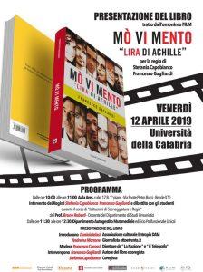 """Presentazione del libro """"Mò Vi Mento – Lira di Achille"""" scritto da Francesco Gagliardi"""