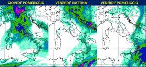 Allerta Meteo, forte maltempo in tutt'Italia: l'allarme si sposta in Calabria, violento ciclone sullo Jonio