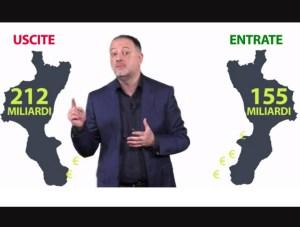 Demoskopika – La Calabria ha il residuo fiscale più negativo d'Italia