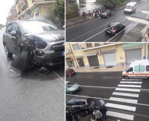 Incidente sulla Statale 106 a Santa Caterina Jonio, tre feriti