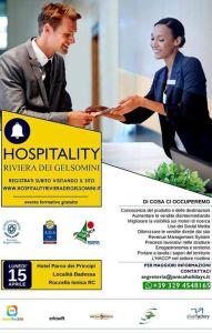 """A Roccella Jonica una giornata di formazione """"Hospitality Riviera dei Gelsomini"""""""