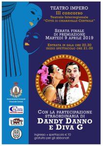 Chiaravalle Centrale, stasera al Teatro Impero Dandy Danno & Diva G