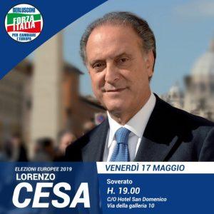 Soverato – Stasera incontro elettorale con l'Onorevole Cesa