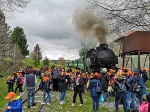 Progetto Scuola-Ferrovia con il Treno della Sila: successo senza precedenti per l'edizione 2019