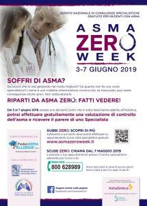 """Dal 3 al 7 giugno l'evento di consulenze specialistiche """"Asma Zero Week"""""""
