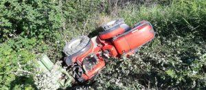 Giovane di 26 anni muore schiacciato dal trattore