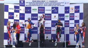 Il calabrese Iaquinta vince gara due a Misano