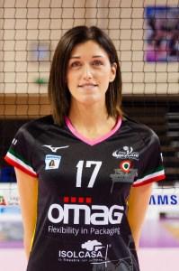 Anna Caneva la nuova centrale del Volley Soverato