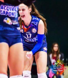 Volley Soverato – Ecco la schiacciatrice Giorgia Quarchioni