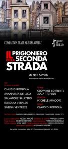 """Al Teatro del Grillo di Soverato in scena """"Il prigioniero della seconda strada"""""""