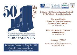 """50° anniversario del Museo Archeologico Nazionale """"Vito Capialbi"""" di Vibo Valentia"""