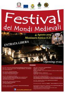 Domenica 4 agosto a Montauro il Festival dei Mondi Medievali