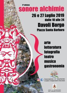"""Il 26 e 27 luglio a Davoli la VI edizione del festival """"Sonore Alchimie"""""""