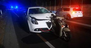 Scontro tra auto e moto sulla Statale 106, muore un 41enne