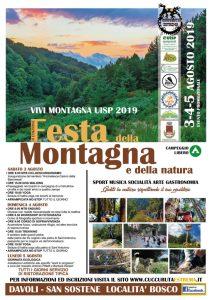 """A San Sostene e Davoli il 3, 4 e 5 agosto alla II edizione della """"Festa della Montagna"""""""