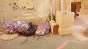Cittadini incivili o distratti, e destino dei rifiuti