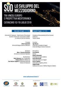 Al via il 10 luglio a Catanzaro la prima Sud Economics Summer School