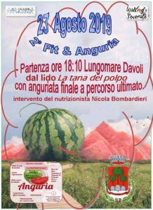 """Venerdì 23 agosto a Davoli la seconda edizione di """"Fit & Anguria"""""""