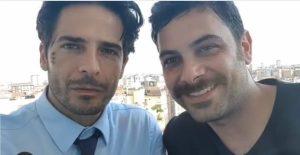 Walter Cordopatri e Marco Bocci insieme nella Scuola di recitazione della  Calabria