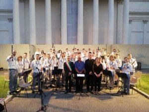 """Il complesso bandistico """"Città di Girifalco"""" si esibisce nella suggestiva cornice dei Musei Vaticani"""