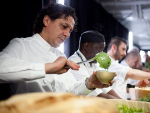Cooking show del grande chef internazionale Francesco Mazzei nel borgo dei vasai di Gerocarne