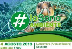 """Soverato – """"Io Sono Ambiente 2019"""", al via campagna anti-plastica dei Carabinieri Forestali"""