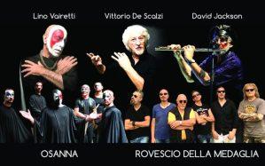 A Settembre al Parco il mega concerto con gli Osanna, Vittorio De Scalzi, Il Rovescio della Medaglia e David Jackson