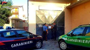 Sequestrata dai carabinieri un'autofficina senza alcuna autorizzazione
