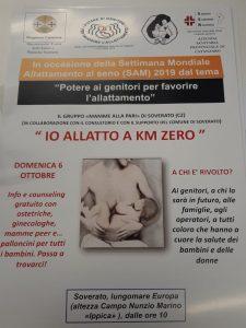 """Domani a Soverato la """"Giornata mondiale dell'allattamento materno"""""""