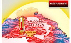 Torna il caldo estivo con l'anticiclone africano, punte di 30 gradi in Calabria