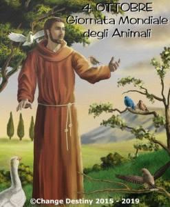 Oggi è il 4 ottobre: Giornata Internazionale degli Animali