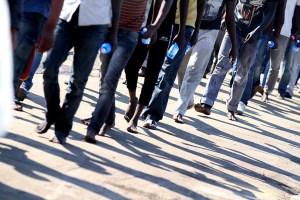 Barca con 56 migranti giunta in Calabria