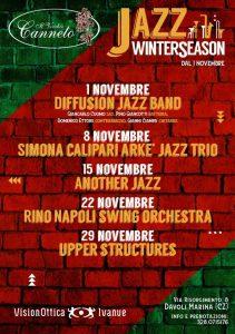 Dal primo novembre parte la rassegna jazz del Vecchio Canneto di Davoli