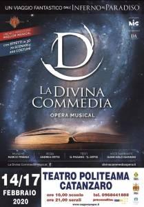 """La grande Opera Musical originale """"La Divina Commedia"""" al Teatro Politeama di Catanzaro"""