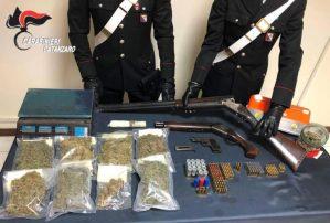 Deteneva armi e droga, 24enne arrestato nel catanzarese