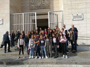 Gli studenti della scuola media di Amato-Miglierina in visita al Museo Archeologico Nazionale di Reggio Calabria