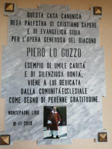 Montepaone Lido, Casa Canonica dedicata a Don Piero Lo Guzzo