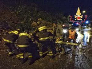 Maltempo in Calabria – Diversi danni per il vento, fiumi ingrossati per pioggia torrenziale