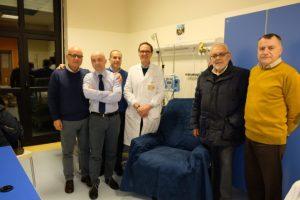 L'ADER dona 10 poltrone alla Soc di Pediatria del Pugliese di Catanzaro