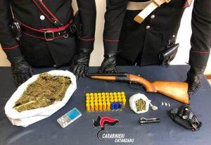 Girifalco – Armi e droga nascoste in un'auto abbandonata, 24enne arrestato