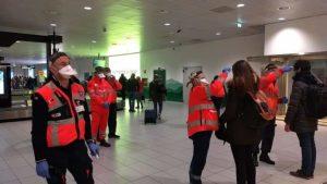 Coronavirus – Attivi all'aeroporto di Lamezia Terme i controlli della temperatura corporea