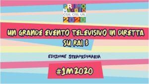 Primo Maggio 2020: un grande evento televisivo in diretta su RAI TRE
