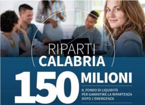 """La Regione vara """"Riparti Calabria"""", 150 milioni per la ripresa economica"""