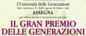 Sei calabresi hanno ricevuto il Gran Premio delle Generazioni 2020 in Molise