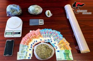 Quattro arresti dei carabinieri per spaccio di droga