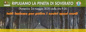 Domenica 24 Maggio ripuliamo la pineta di Soverato