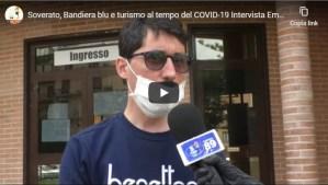 [VIDEO] Soverato, Bandiera blu e turismo al tempo del COVID-19. Intervista a Emanuele Amoruso