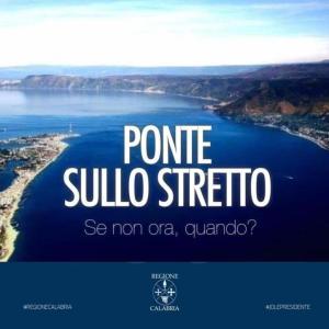 """Santelli: """"Favorevole al Ponte sullo Stretto di Messina"""""""